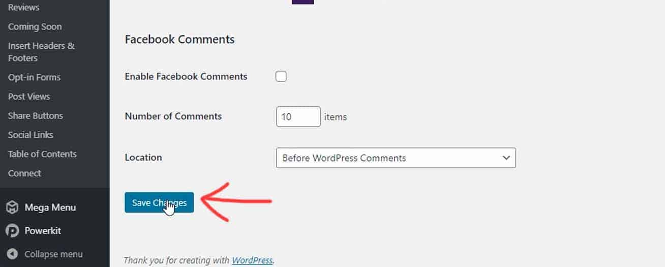 Disable Comments in WordPress