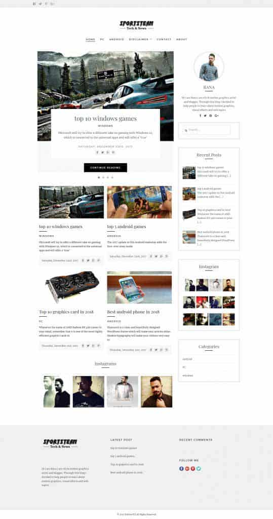 make wordpress website 2018
